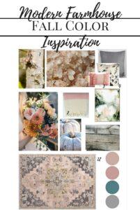 Modern Farmhouse Fall Color Inspiration