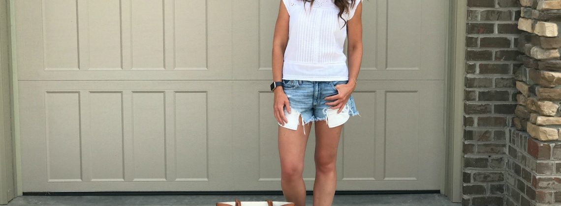 The Cutest Summer Outfit-Perfect for Running Errands