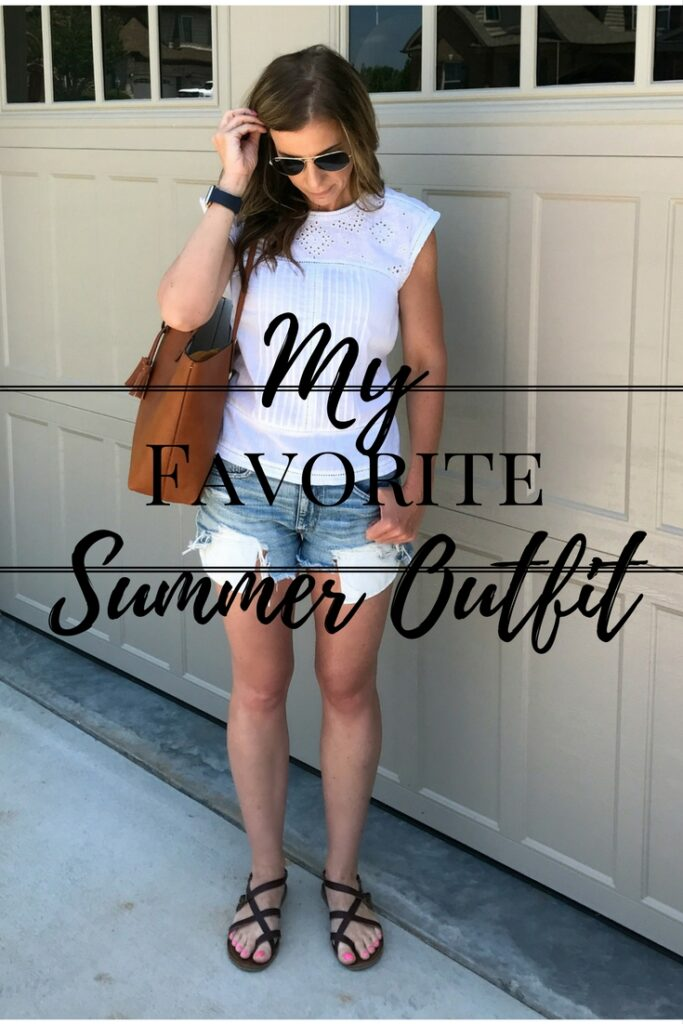 Cutest Summer Outfit. Perfect for Running Errands