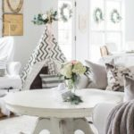 I'm Dreaming of a White Christmas Home Tour Part IV- Family Room