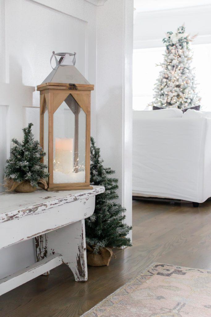 Light and Bright Christmas Home Decor
