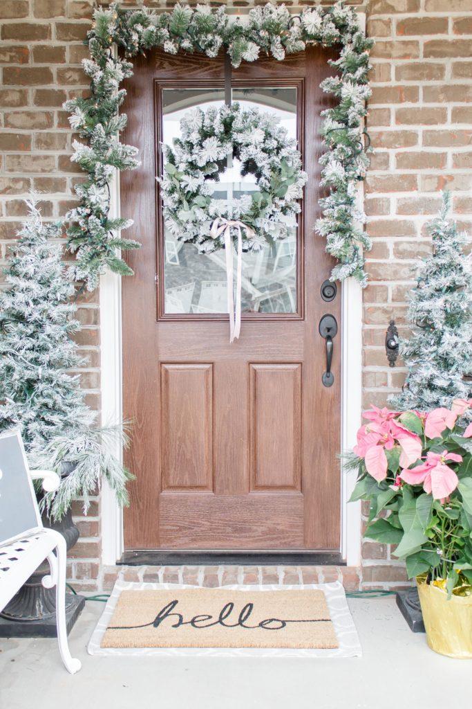 Light and Bright Modern Farmhouse Christmas Home Tour 2017