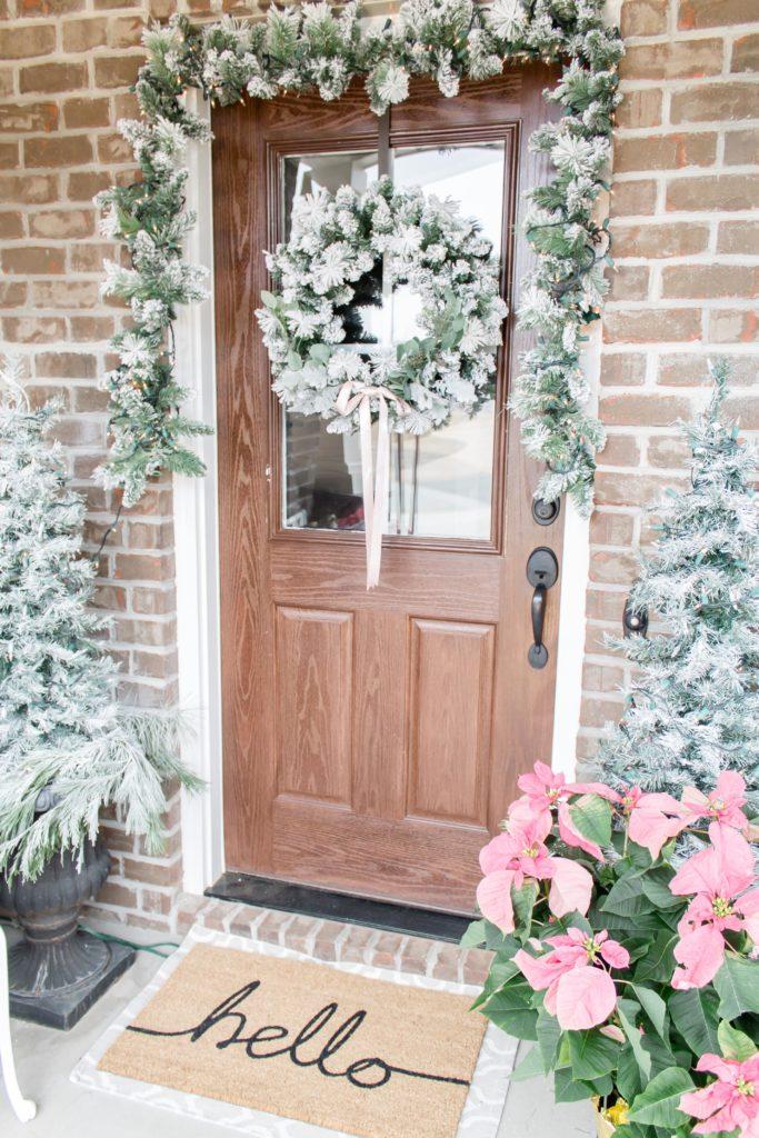 Light and Bright Modern Farmhouse Christmas Home Tour