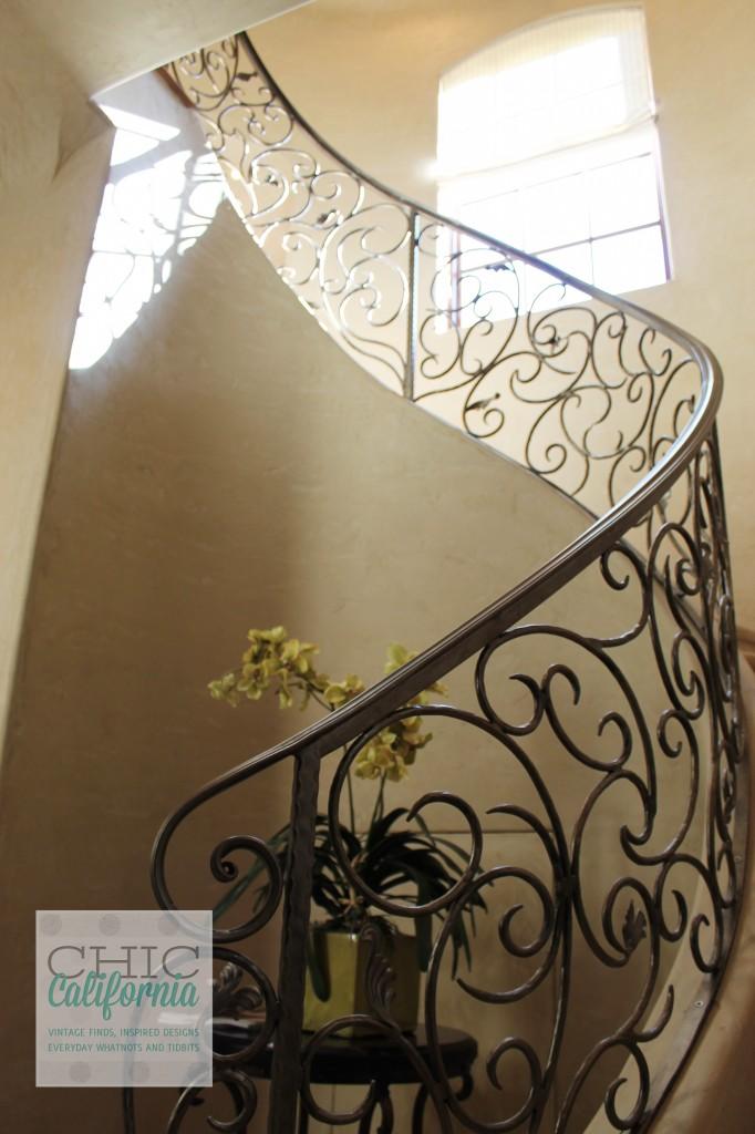 Spiral Staircase, Grand Staircase, Iron Staircase, Ironwork, Iron banister