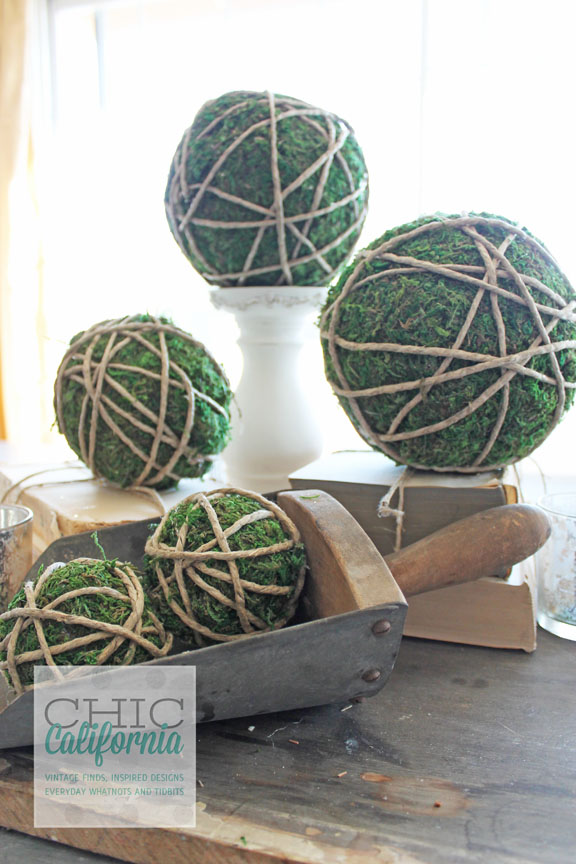 Garden Ball on Candle Stick