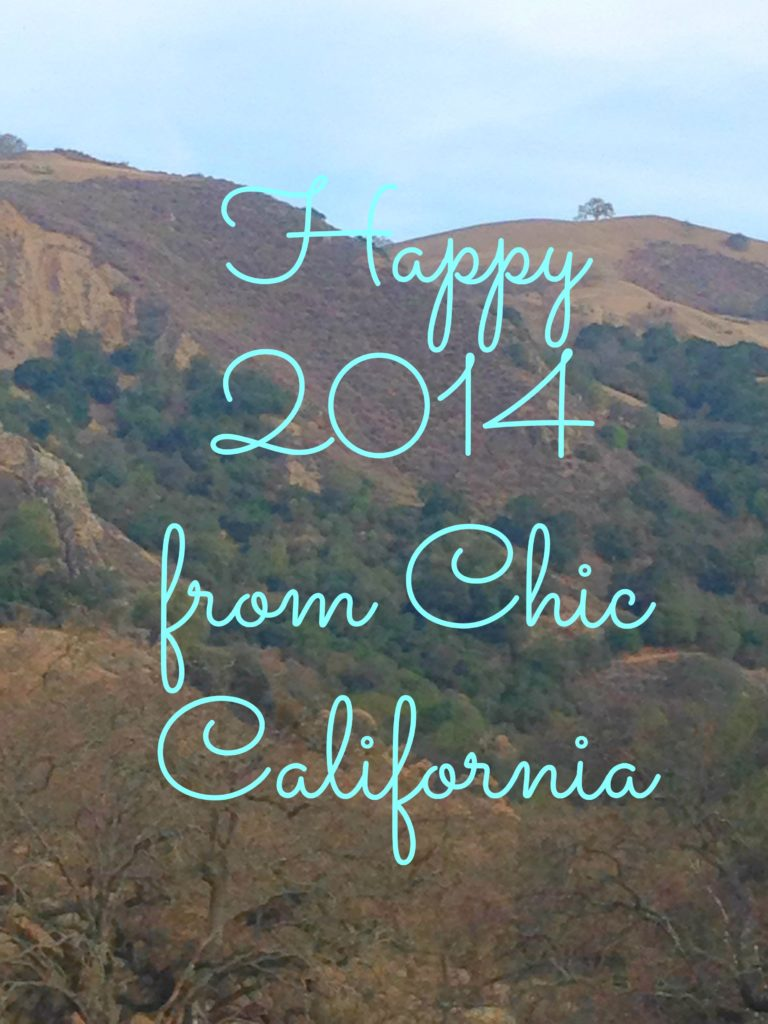 Happy New Year, California Hills, Hiking in California