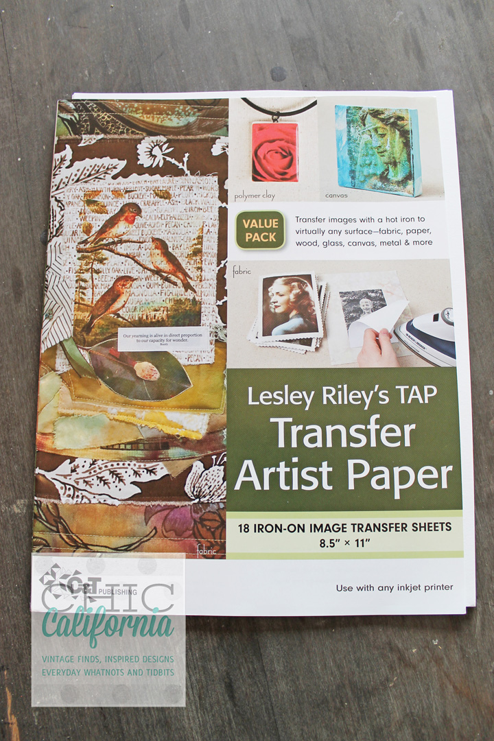 Leslie Riley Transfer Artist Paper