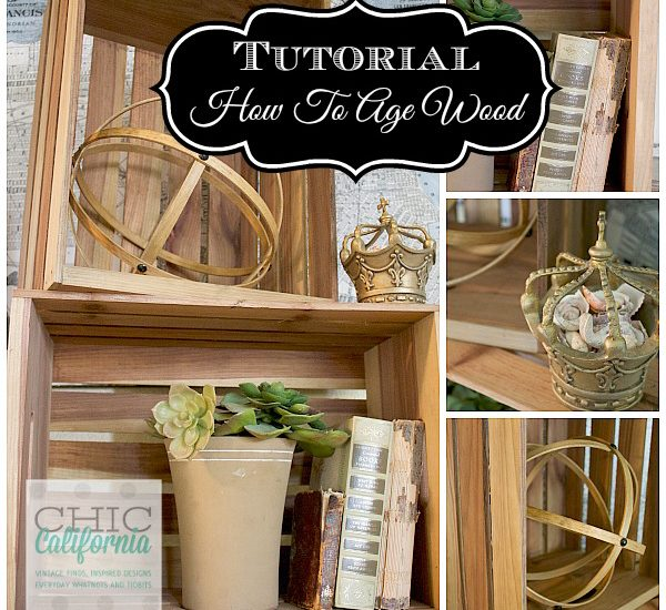 Tutorial on How to age wood
