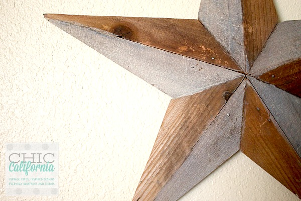 reclaimed wood star