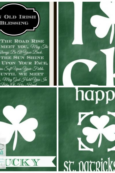 Inspired Design Monday: Free St. Patrick's Day Printables
