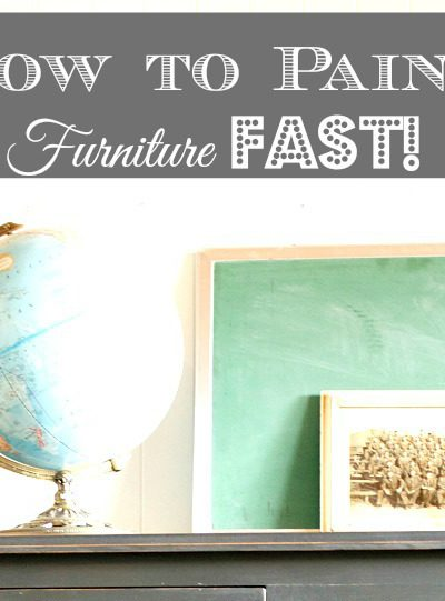 Transformation Tuesday: How to Paint Furniture Fast with Chalk Paint