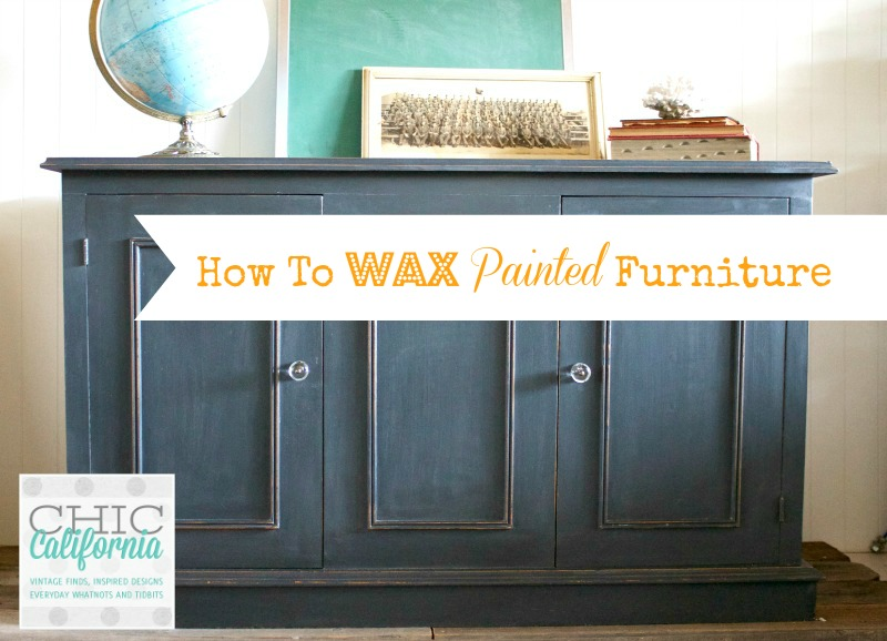 How to Wax Painted Furniture
