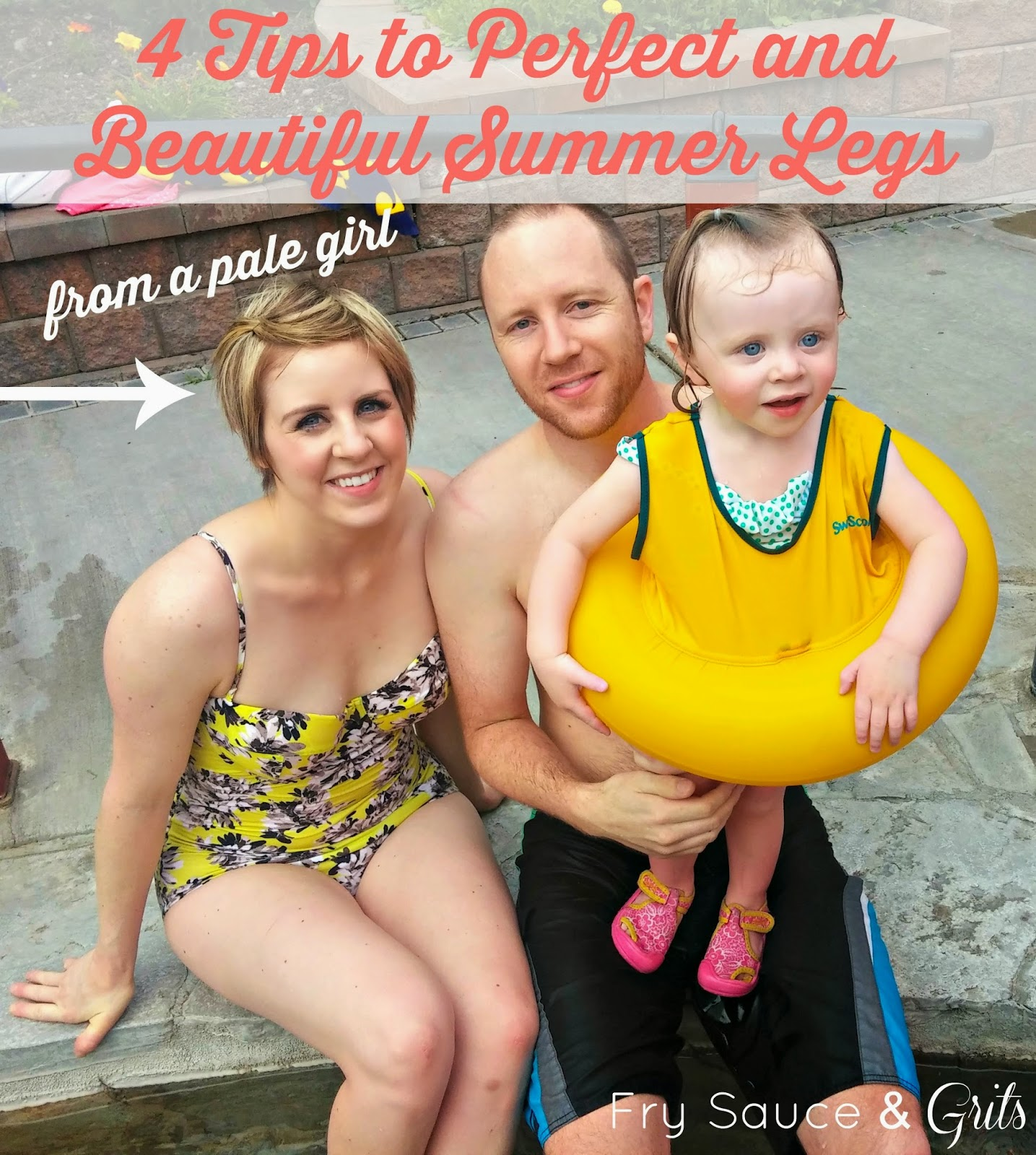 4 Tips to Perfect and Beautiful Summer Legs from a Pale Girl from FrySauceandGrits.com
