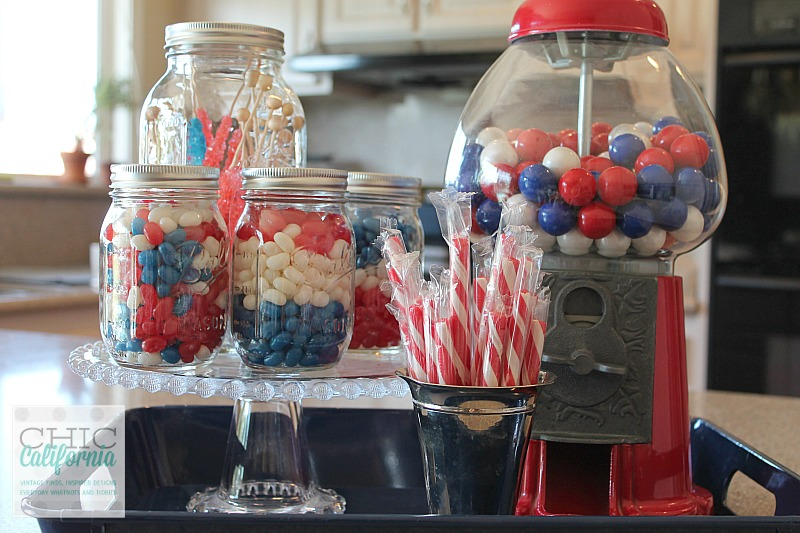 4th of July Candy Bar