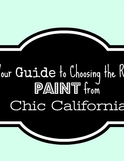 Your Definitive Guide To Choosing the Right Paint