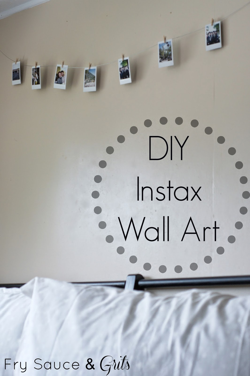 Fry Sauce and Grits Instax Wall Art