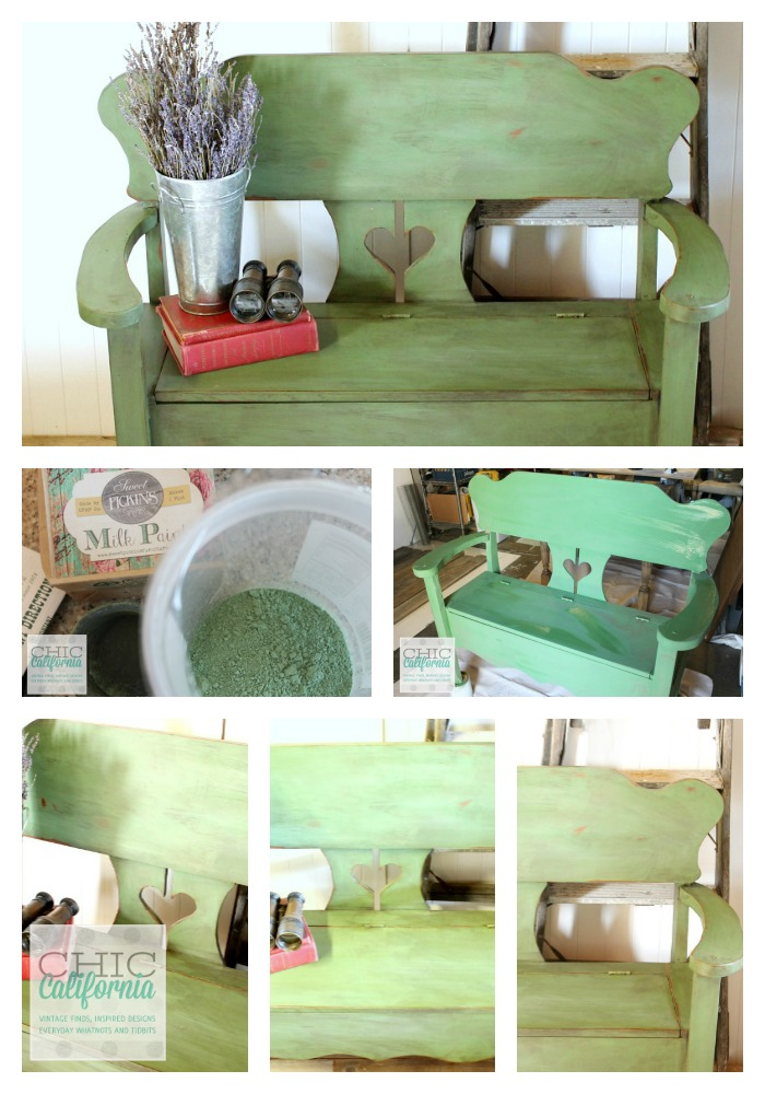 Sweet Pickins Milk Paint Tutorial from Chic California