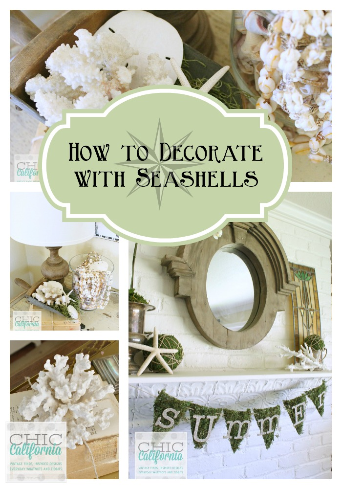 How to Decorate with Seashells