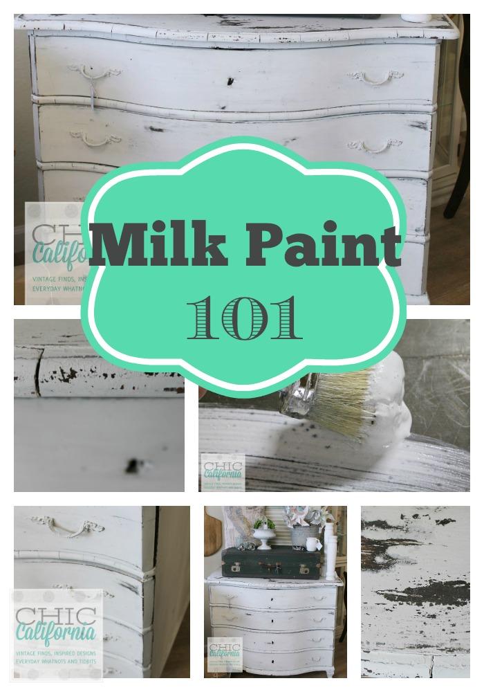 Milk Paint 101