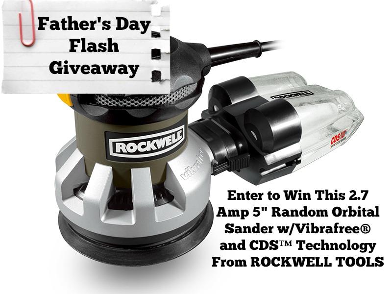 Rockwell Sander Giveaway