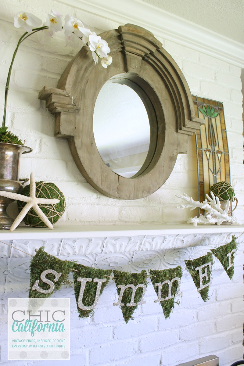 Summer Mantel by Chic California