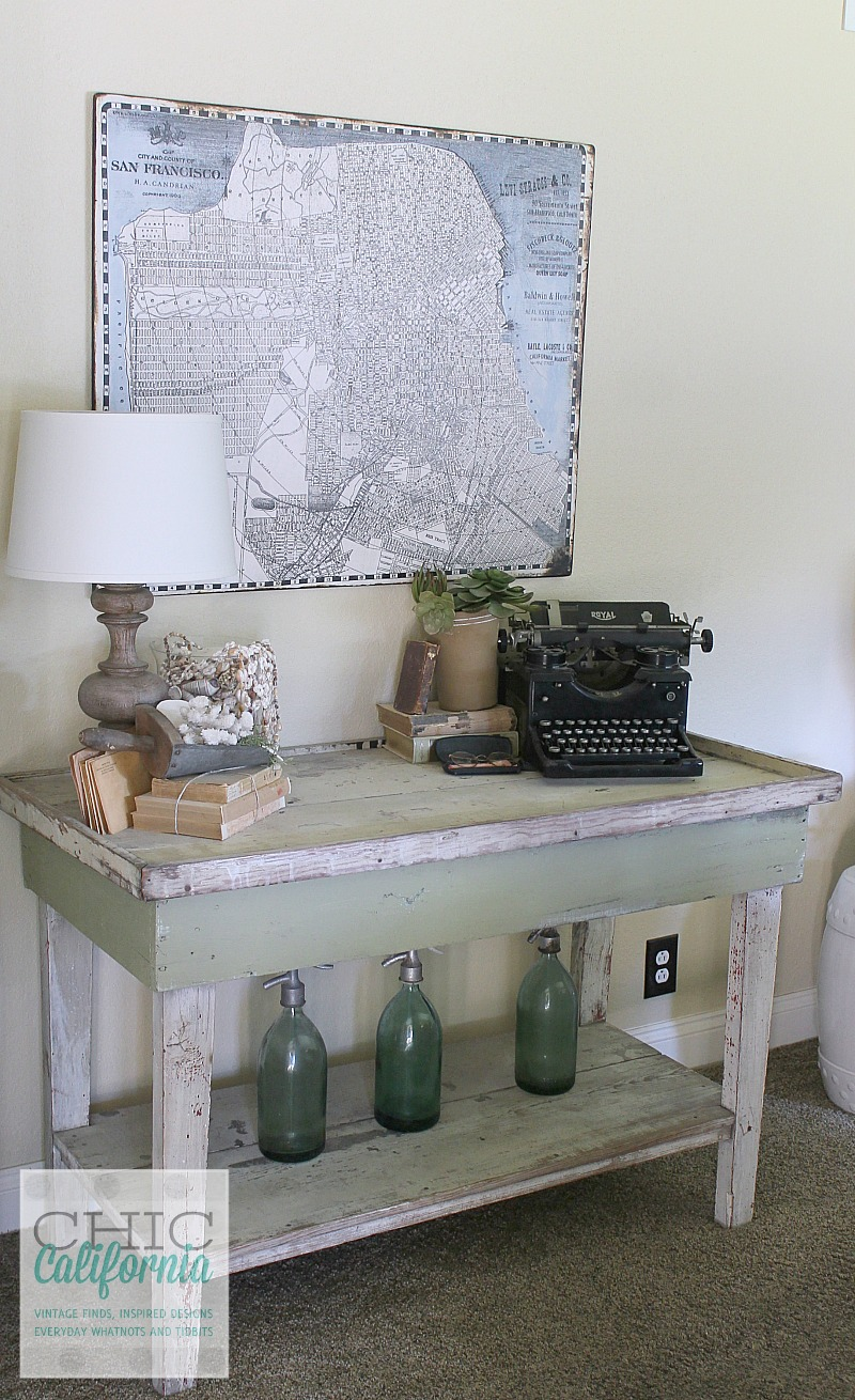 Vintage Market Table