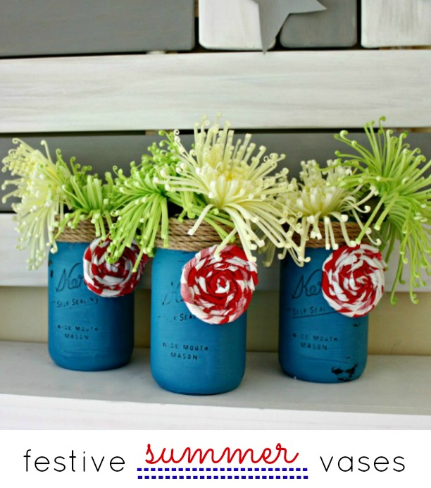 festive-mason-jar-vases