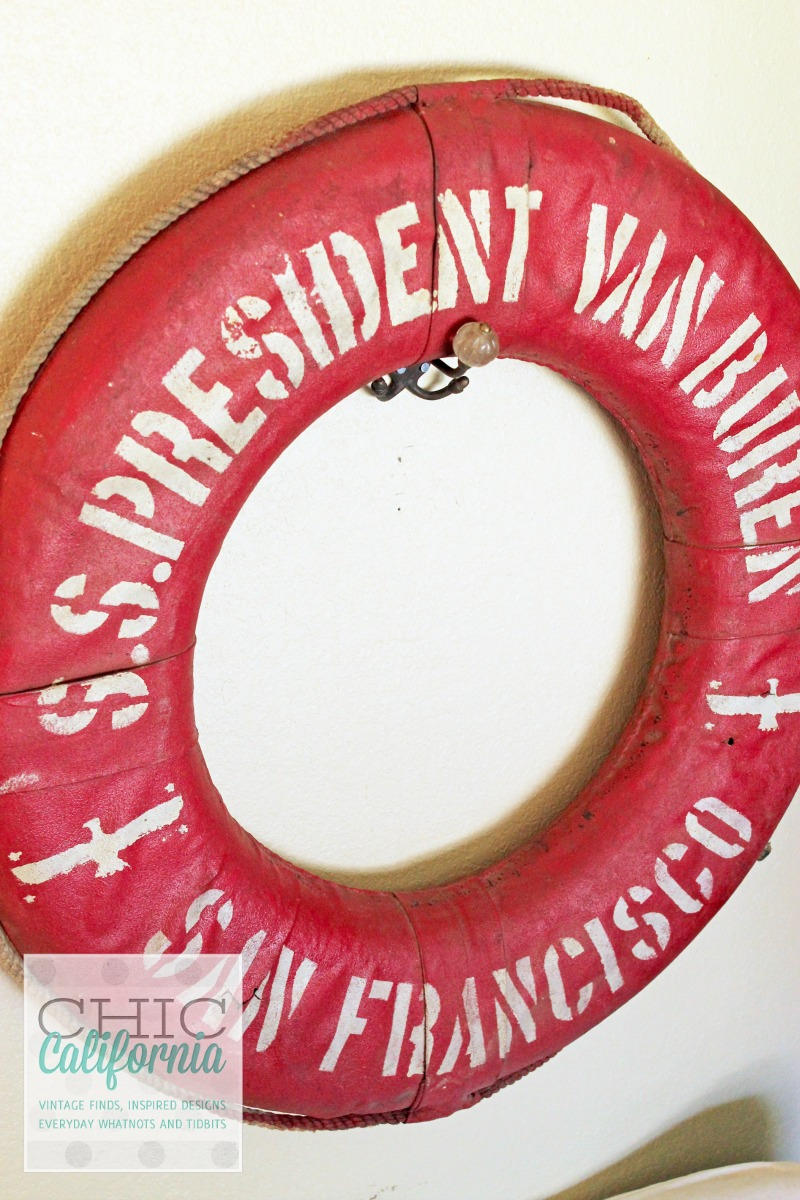 vintage life preserver