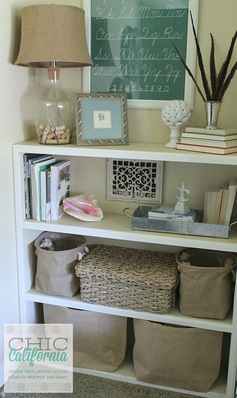 Book Shelf Styling by Chic California