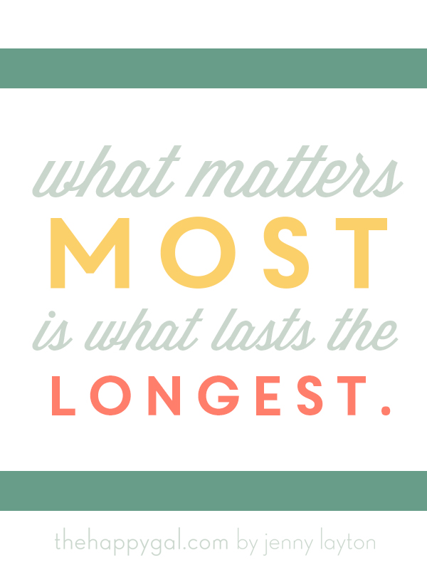 what-matters-most