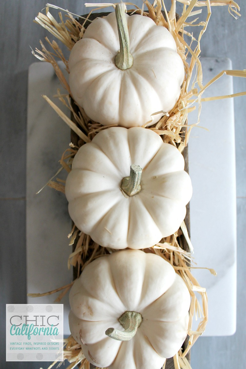 Fall Home Tour 3 pumpkins