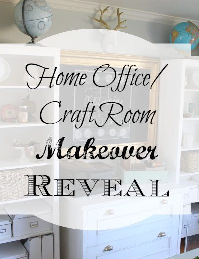 Home Office/Craft Room Makeover Reveal
