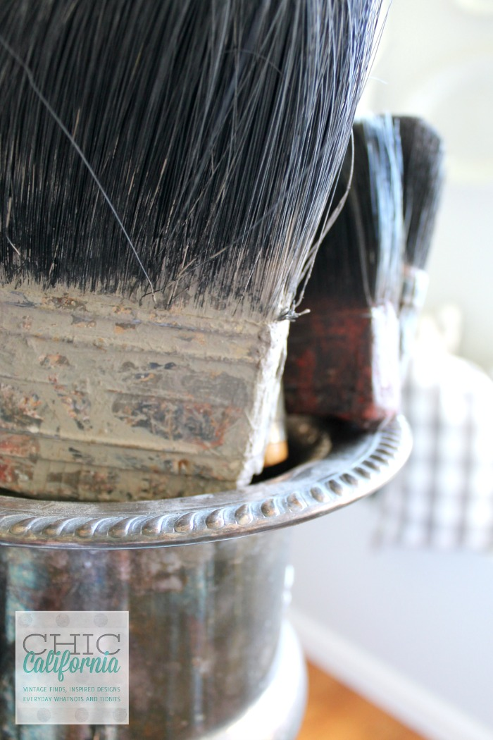 Vintage Paint Brushes by Chic California