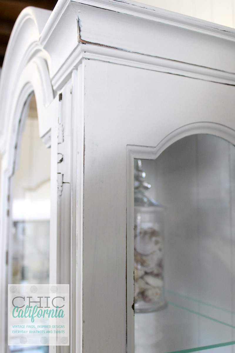 Milk Paint China Cabinet