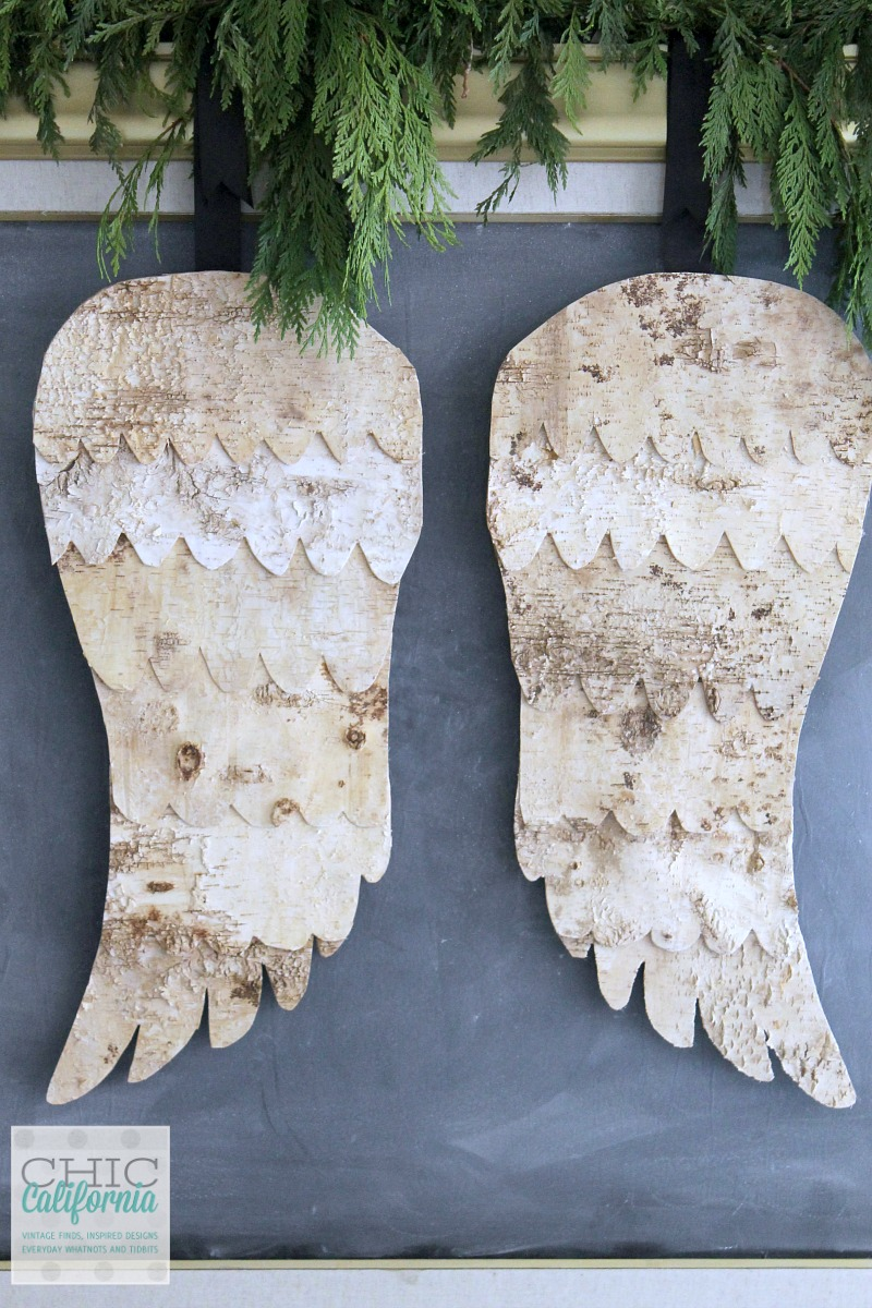 Birch Bark Angel Wings Tutorial