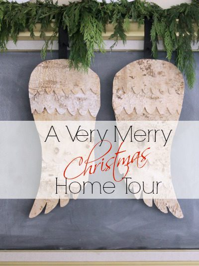 A Very Merry Christmas Home Tour and Blog Hop