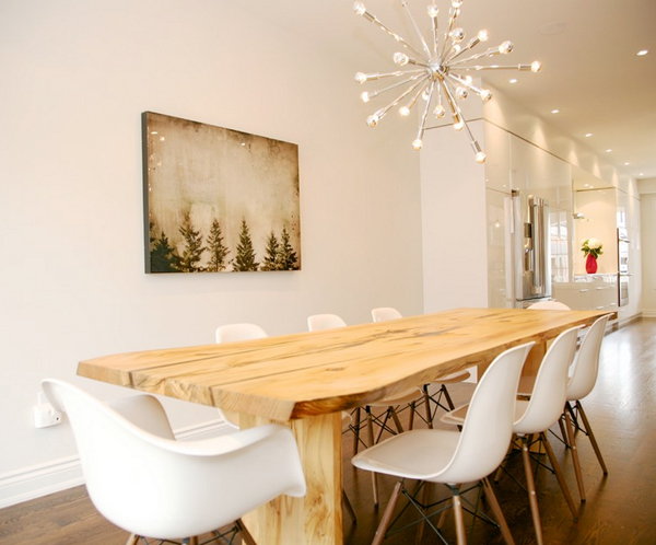 White dove dining room