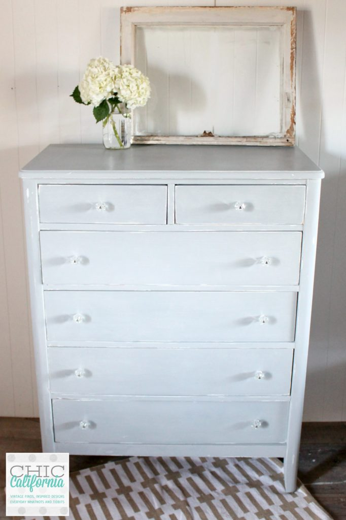 Sweet Pickins Milk Paint dresser in Galvanized