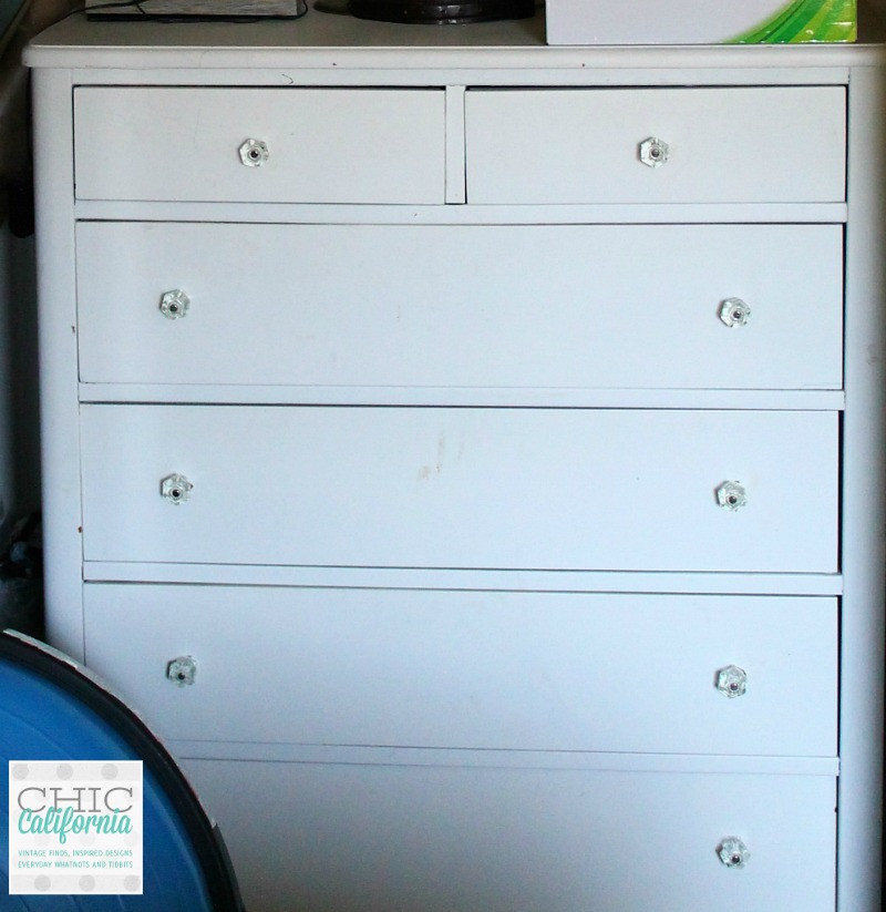 White Dresser Before