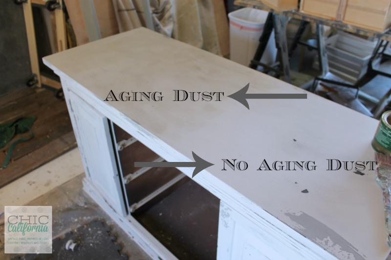 Aging Dust