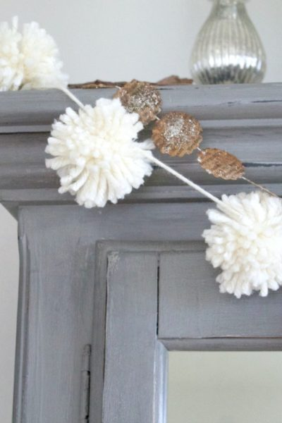 Easy Pom Pom Garland Tutorial