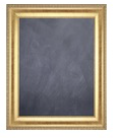 GOld Frame Blackboard