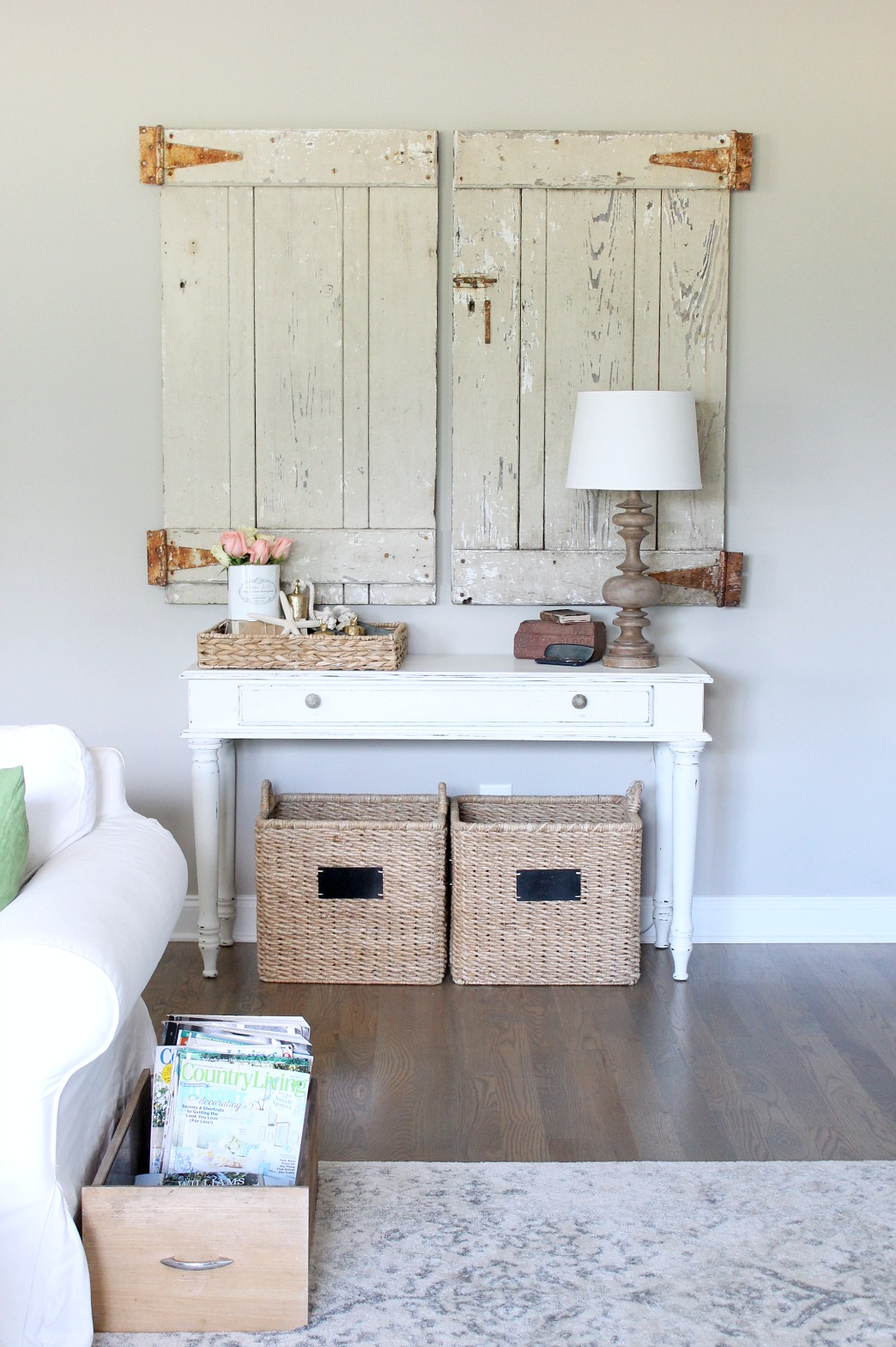 Summer Home Tour Barn Doors
