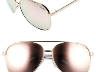 Quay 64mm Aviater Sunglasses