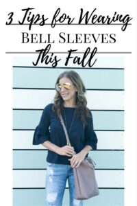 3 Tips for Wearing Bell Sleeves This Fall