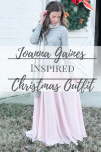 Joanna Gaines Inspired Christmas Outfit