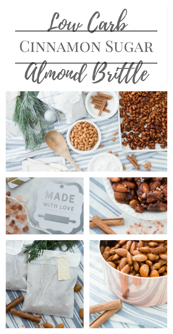 Cinnamon Sugar Almond Brittle | Low Carb | Great Neighbor Gift | AE Home & Style (Chic California)