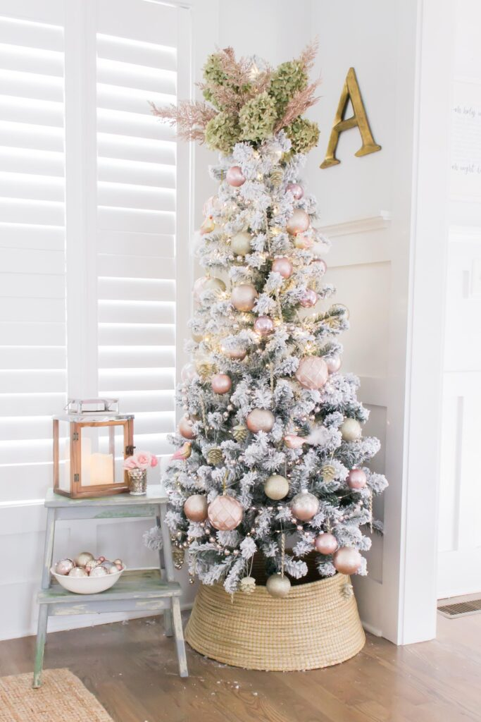 Modern Farmhouse Christmas Home Tour Office _003