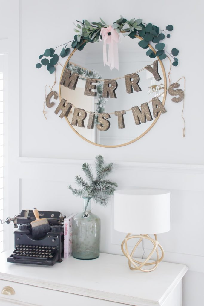 Modern Farmhouse Christmas Home Tour Office _017