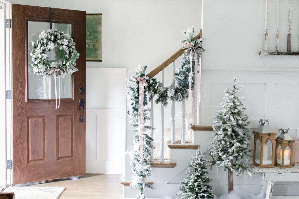 Light and Bright Modern Farmhouse Style Christmas Home Tour